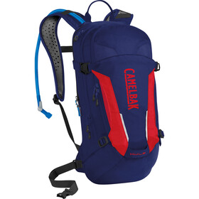 CamelBak M.U.L.E. Harnais d'hydratation Moyen, pitch blue/racing red